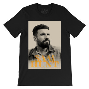 Sam Hunt 2018 Dateback Photo T-Shirt