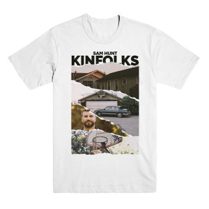 White Kinfolks Photo T-Shirt