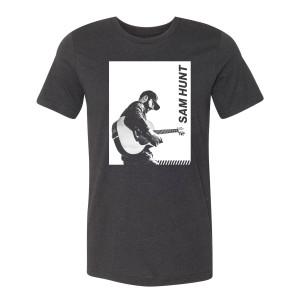 Guitar Block Photo T-Shirt