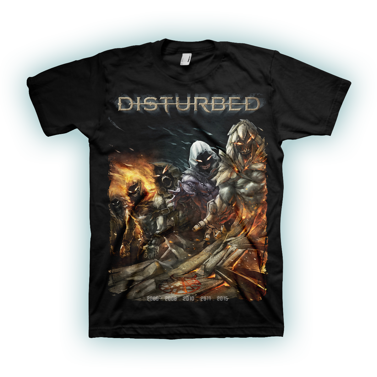 Disturbed Evolution Black T-Shirt