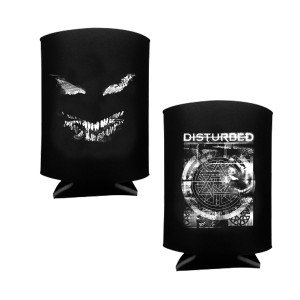 Disturbed Static Koozie