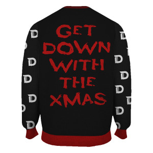 Down With the Xmas Woven Sweater