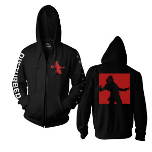 Red The Guy Evolution Zip Hoodie