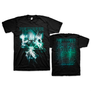 Apocalypse 2019 Tour Date Back T-shirt