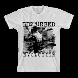 Evolution Sketch White T-shirt