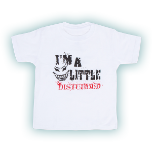 I'm a Little Disturbed Toddler T-Shirt