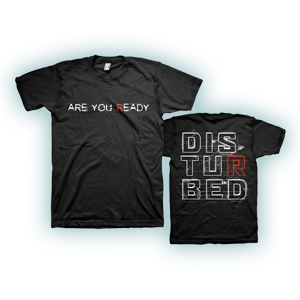 Are you Ready Black T-Shirt