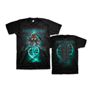Emerge Dateback Black T-Shirt