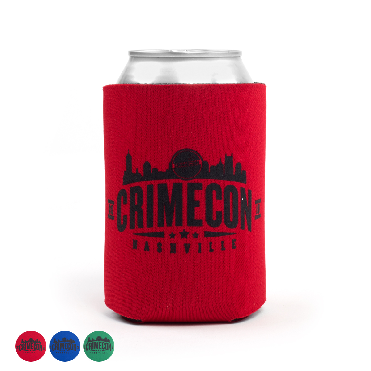 CrimeCon Koozie