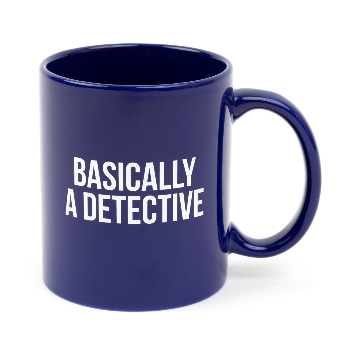Basically A Detective Mug