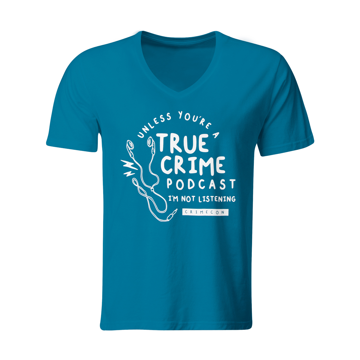 True Crime Podcast V-neck