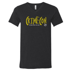 CrimeCon Official V-Neck T-Shirt