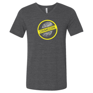 CrimeCon Logo V-Neck T-Shirt