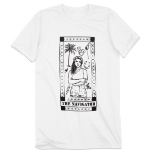 White Saint Shirt