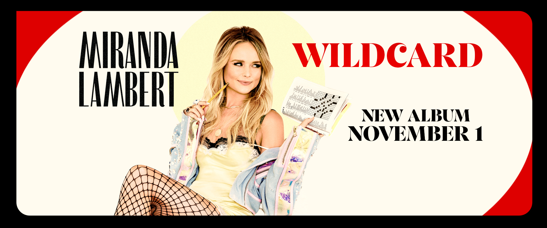 Miranda Lambert Wildcard Available Now