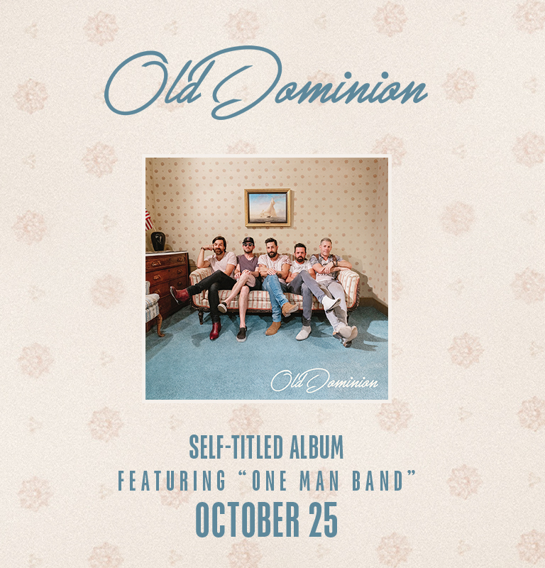 Old Dominion New Album Available Now
