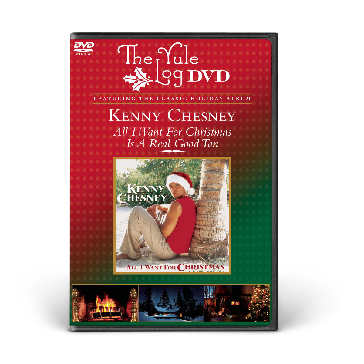 Kenny Chesney: All I Want For Christmas... - The Yule Log DVD | Shop ...