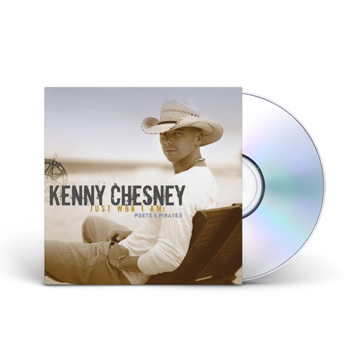 Kenny Chesney: Just Who I Am: Poets & Pirates CD