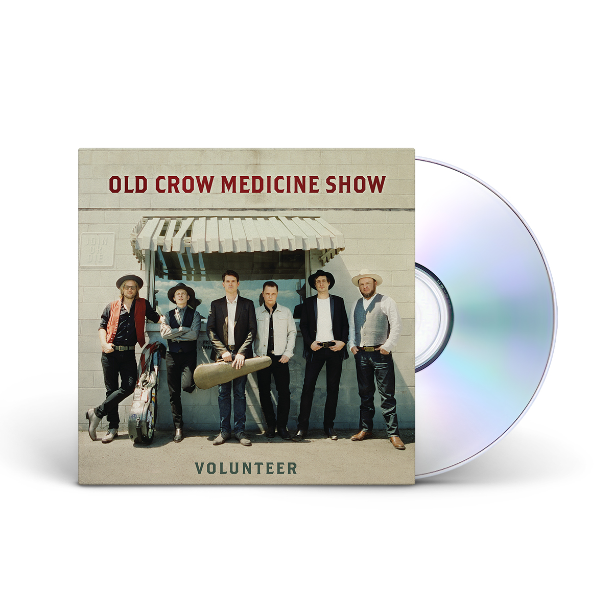 Old Crow Medicine Show Volunteer CD