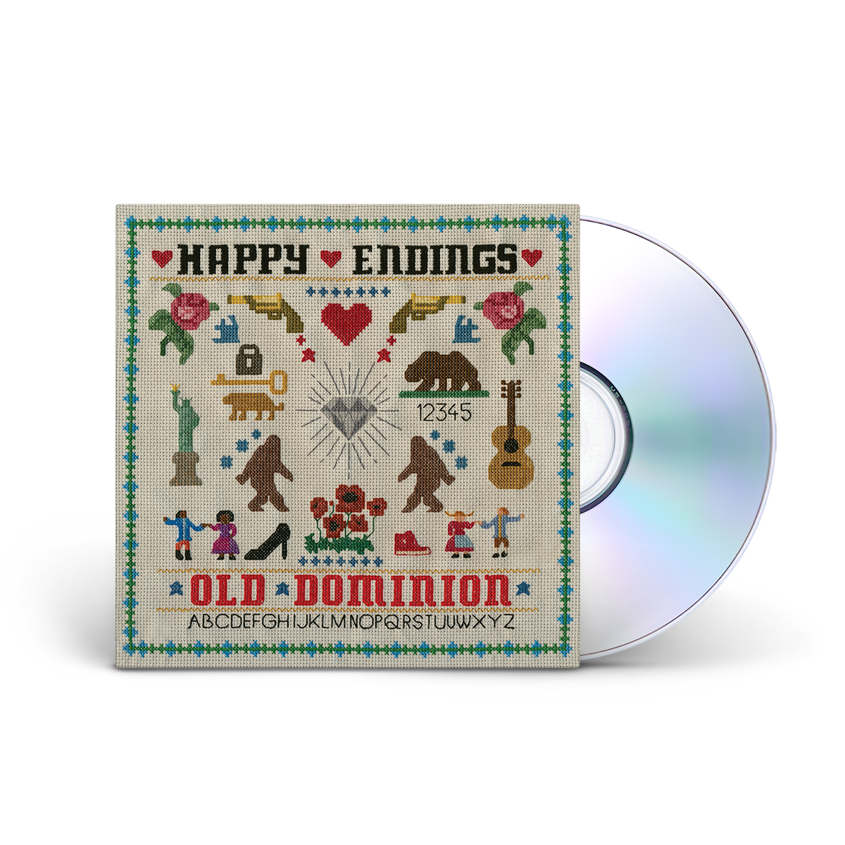 Old Dominion 'Happy Endings' CD