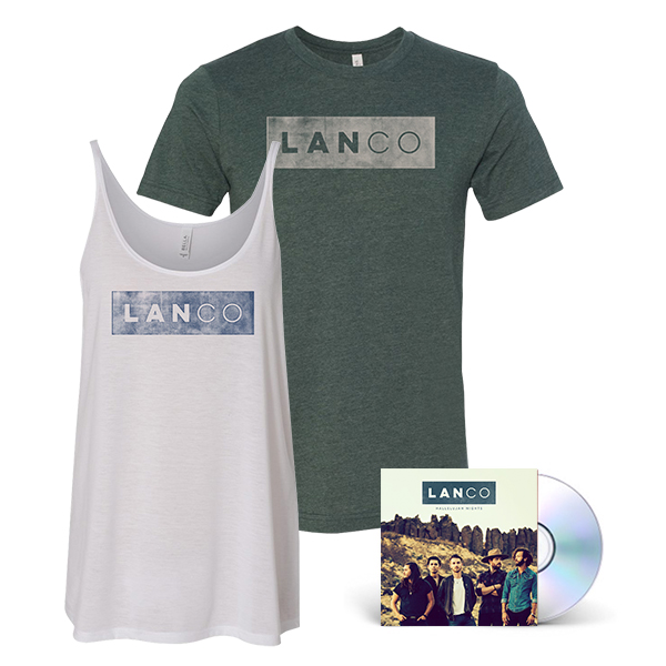 LANCO Hallelujah Nights  Men's Shirt + Women's Tank + CD