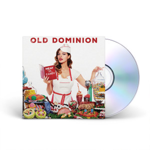 Old Dominion – Meat and Candy Signed CD