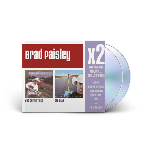 Brad Paisley: X2 (Mud On The Tires/5th Gear) CD