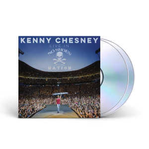 Kenny Chesney Live in No Shoes Nation CD
