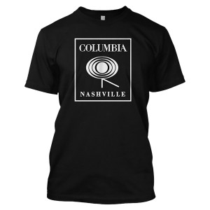 Columbia Nashville Label Logo T-shirt