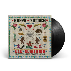 Old Dominion 'Happy Endings' Vinyl LP
