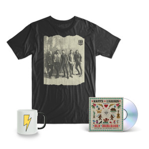 "Old Dominion ""Happy Endings"" CD + T-Shirt + Mug Bundle"