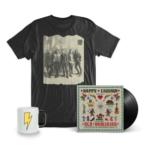 "Old Dominion ""Happy Endings"" LP + T-Shirt + Mug Bundle"