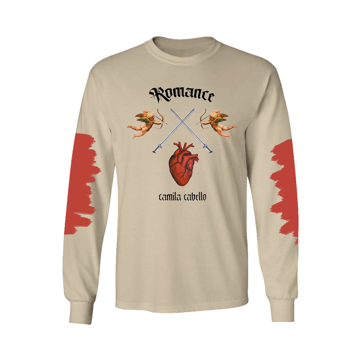 Heart, Sand, Stone Long Sleeve Tee