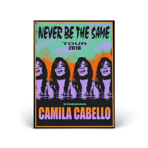 Never Be The Same Tour Poster