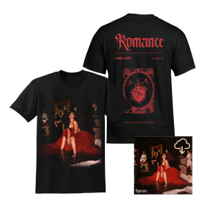 Romance Album T-Shirt + Digital Album Download