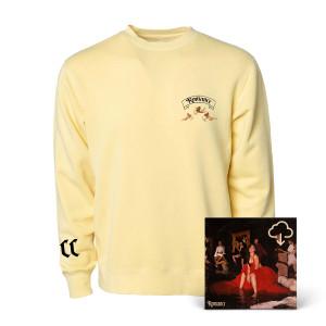 Romance Yellow Crewneck Fleece + Digital Album Download