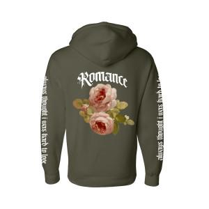 Rose Romance Olive Hoodie + Digital Album Download
