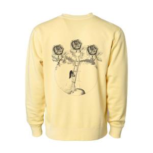 Romance Yellow Crewneck Fleece