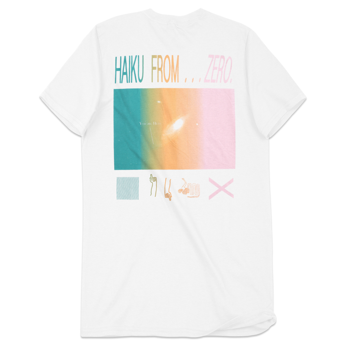 Cut Copy Haiku From Zero T-Shirt