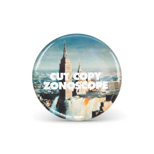 Cut Copy Zonoscope Button Pack
