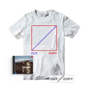 Cut Copy Freeze, Melt T-shirt, CD & Sticker