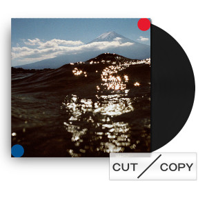 Cut Copy Freeze, Melt Black Vinyl & Sticker