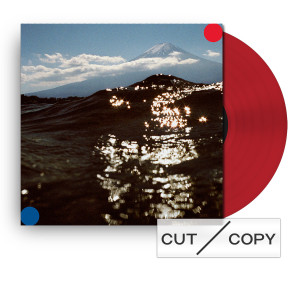 Cut Copy Freeze, Melt Red Vinyl & Sticker