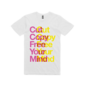 Cut Copy Free Your Mind T-Shirt