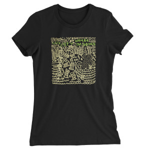 Cut Copy Where I'm Going Women's Black T-Shirt