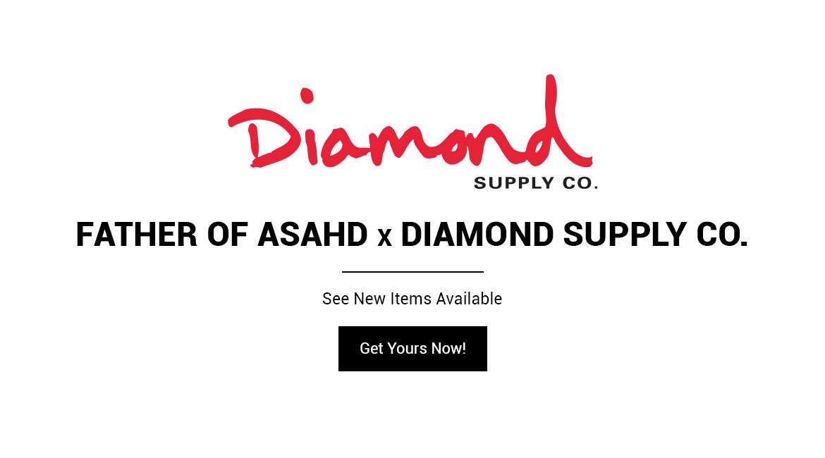 Shop the Father of Asahd x Diamond Supply Co. Collection Now!