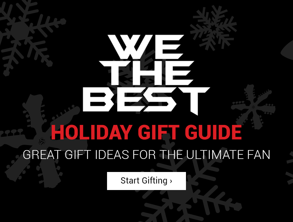 We The Best Holiday Gift Guide | Great Gift Ideas For The Ultimate Fan | Click Here to Start Gifting!