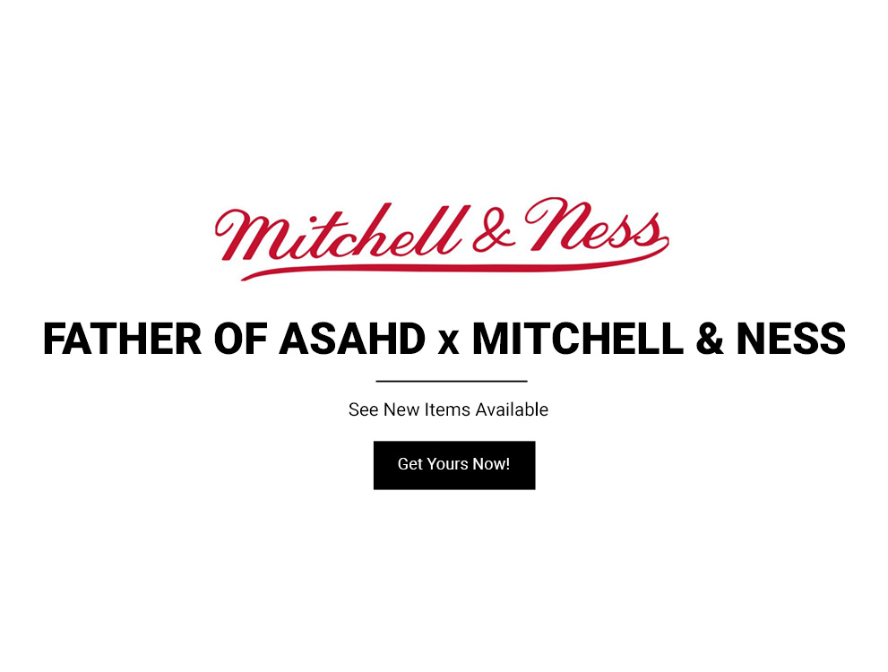 Shop the Father of Asahd x Mitchell & Ness Collection Now!