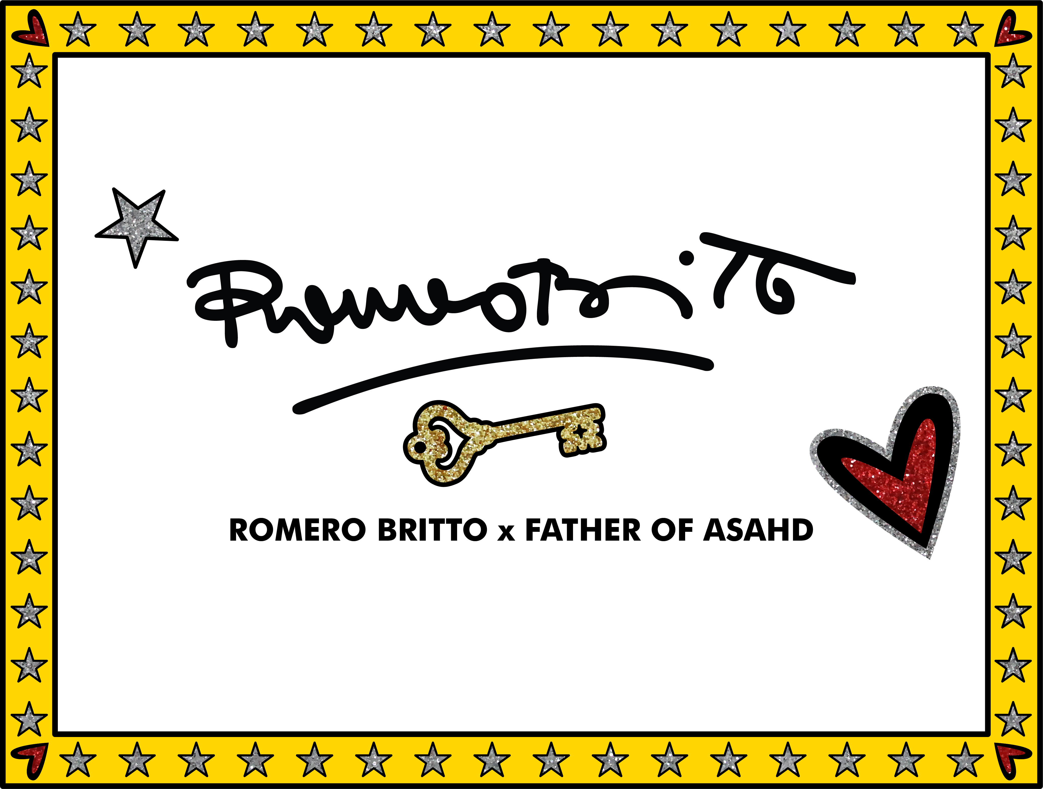 Shop the Romero Britto x Father of Asahd Collection Now!
