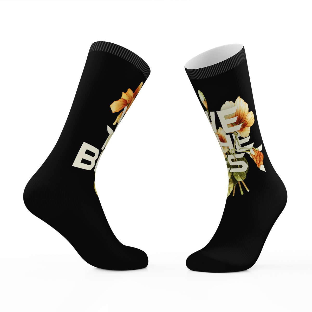 Black We The Best Tribe Socks